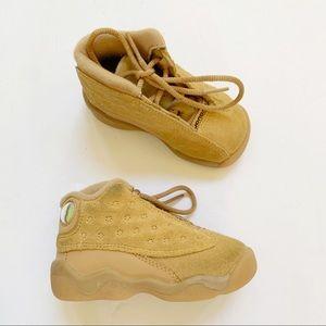Nike Air Jordan Retro XIII Tan Suede Sneaker 5